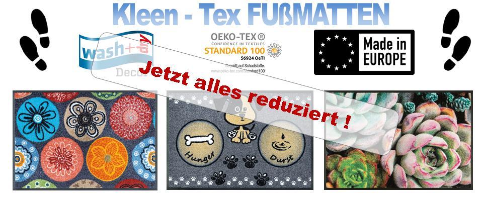 Kleen-Tex Banner (Kategorie Fussmatten)