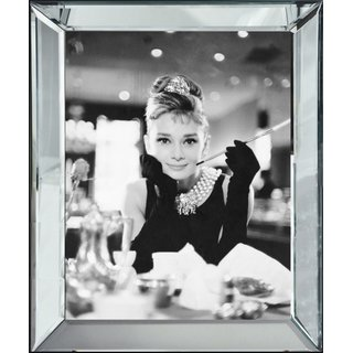 Wandbild Audrey Hepburn Breakfast at Tiffany`s