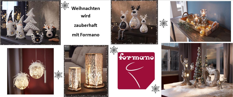 Weihnachten mit Formano