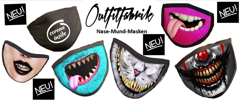 Neue Mund-Nase-Masken