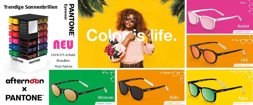 Pantone Sonnenbrillen mit UV-Schutz