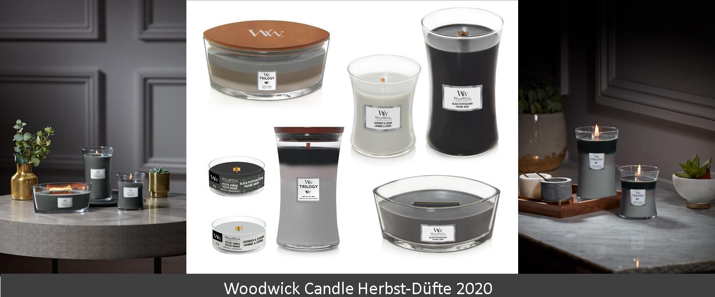Woodwick Candle Herbstdüfte 2020