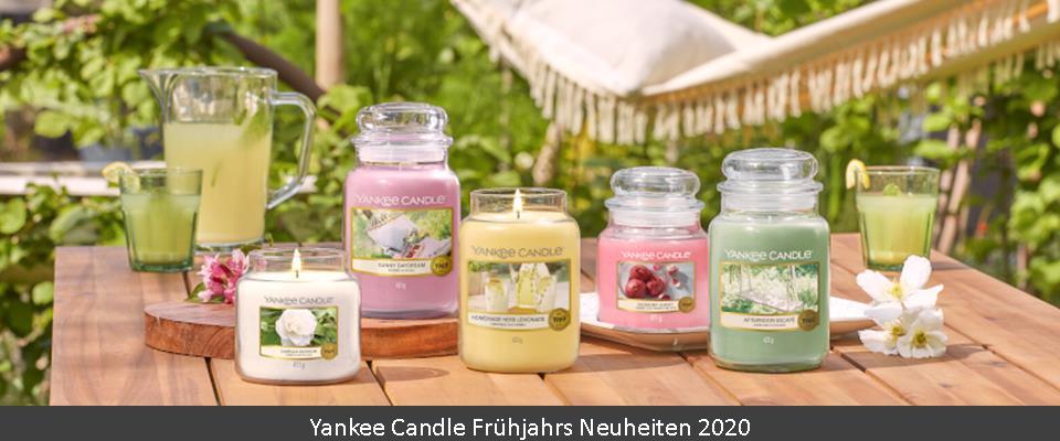 Yankee Candle Frühjahrsdüfte