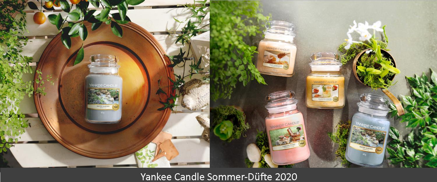 Yankee Candle Sommerdüfte