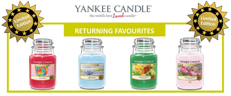 Neu: Yankee Candle Favoriten 2021